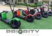 BigFoot 1000W Electric Fat Tire Scooter
