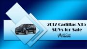 2017 Cadillac XT5 SUVs for Sale - All Car Sales