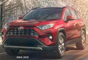 Toyota RAV4 latest model economy car.